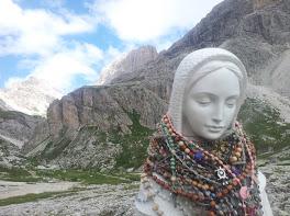 Statua della Madonna, Rifugio Vajolet