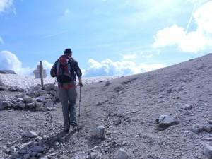 Ultimi sforzi verso il Passo Antermoia