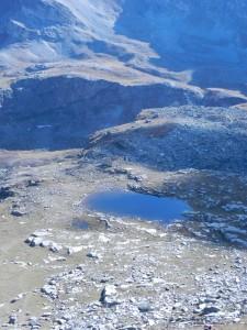 Il Lago Camoscere, sulla via del rientro