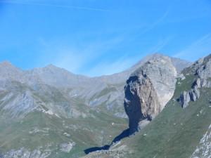 Rocca Senghi alle nostre spalle (Vallone di Fiutrusa)