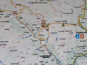 Santuario di San Besso, itinerario