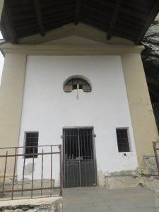 Santuario di San Besso, ingresso